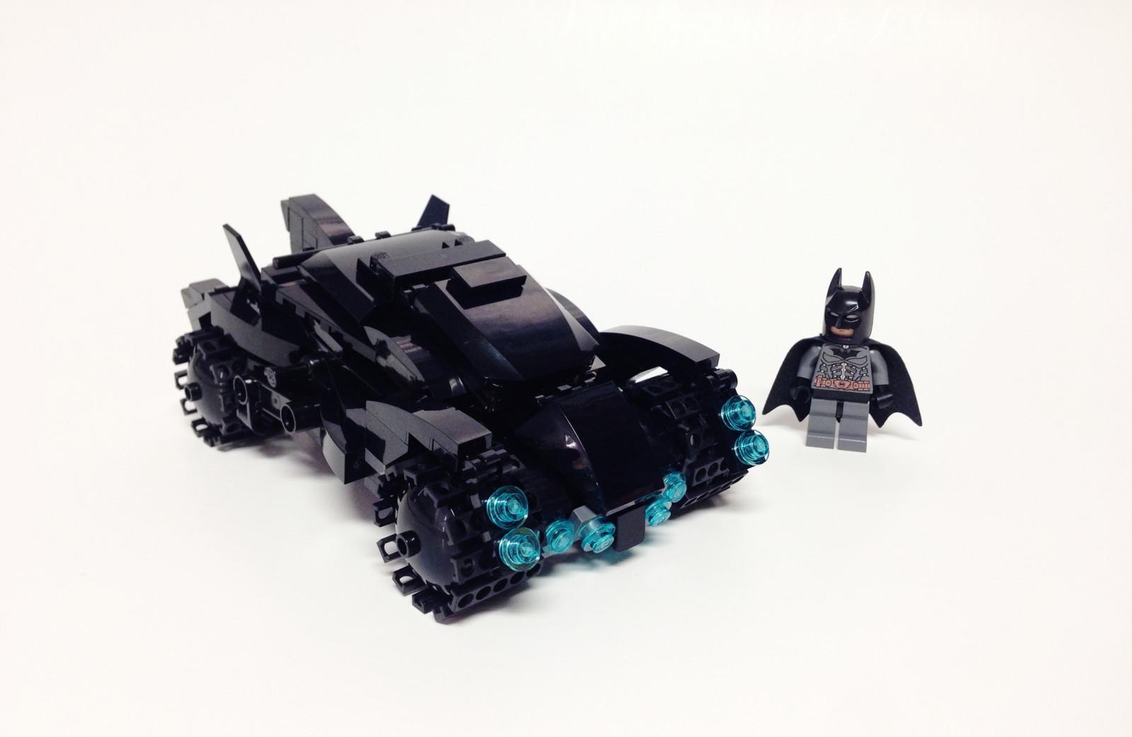 Видео урок: Как сделать Lego Бэтмена своими руками 13