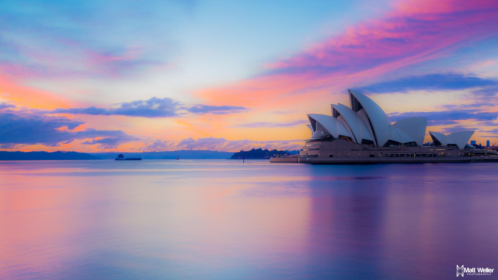 Wallpaper landscape sunset sea architecture water - Paisajes de australia ...