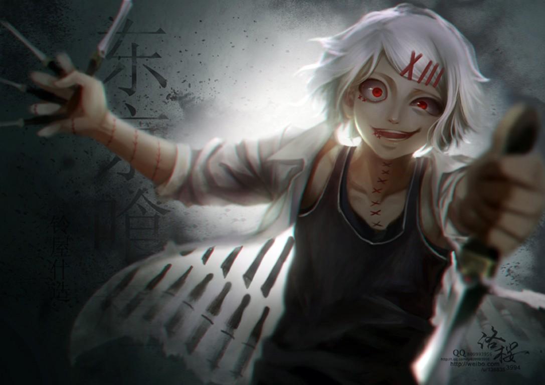 Wallpaper Anime Tokyo Ghoul Suzuya Juuzou Darkness Screenshot