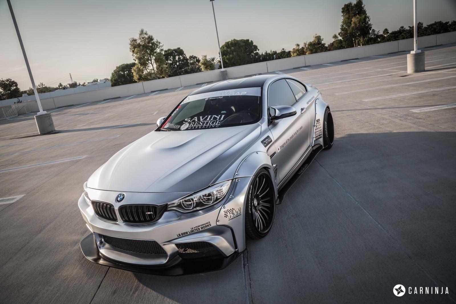 Wallpaper : BMW M4 Coupe, LB Performance, LB Works ...