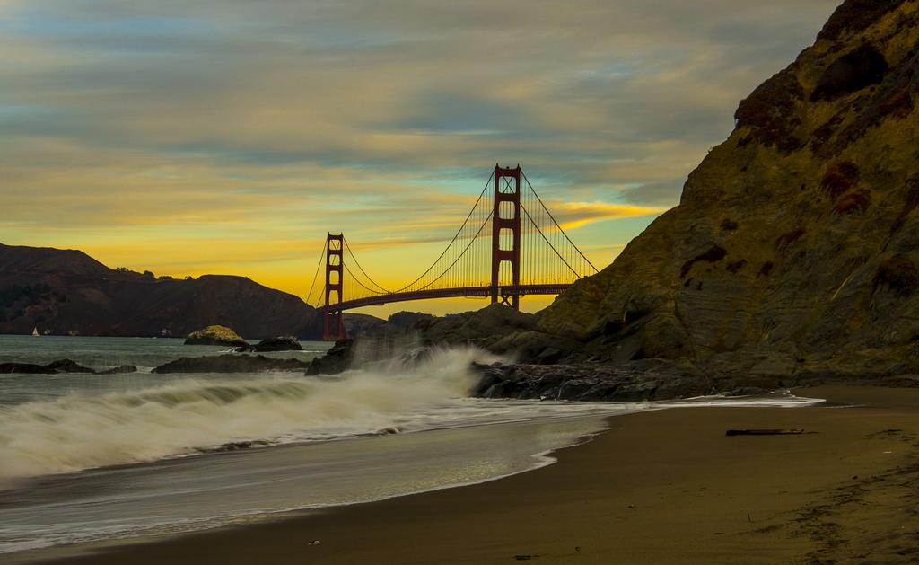 California Wallpaper Northerncalifornia Sunrise Nikon Waves Screensaver Background Surfing Pch Pacificocean Goldengatebridge Bayarea Beaches Fortpoint
