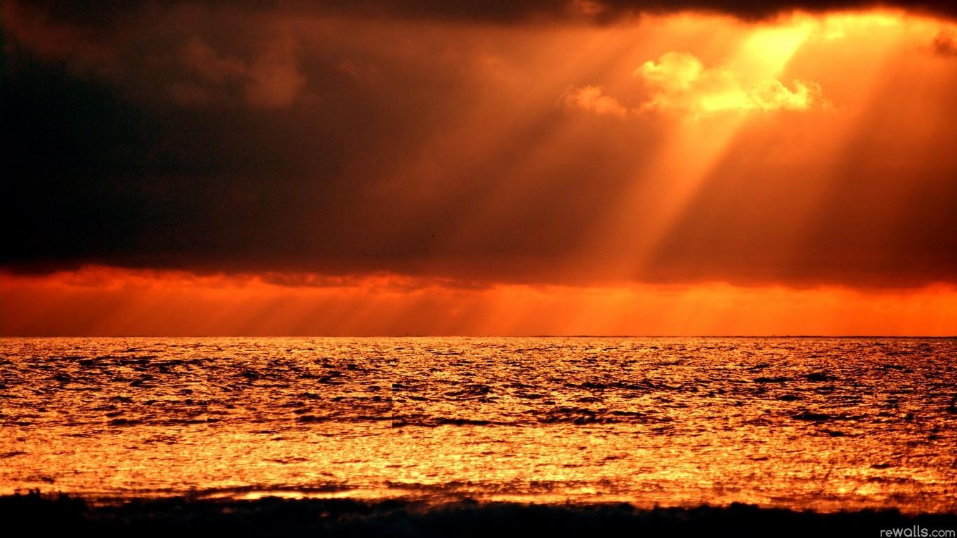 Дню, гифка море и солнце