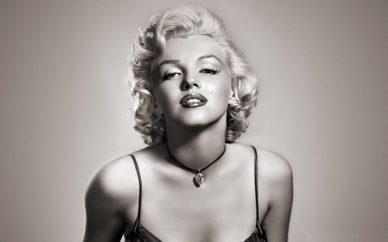 Wallpaper Long Hair Dress Marilyn Monroe Supermodel Girl