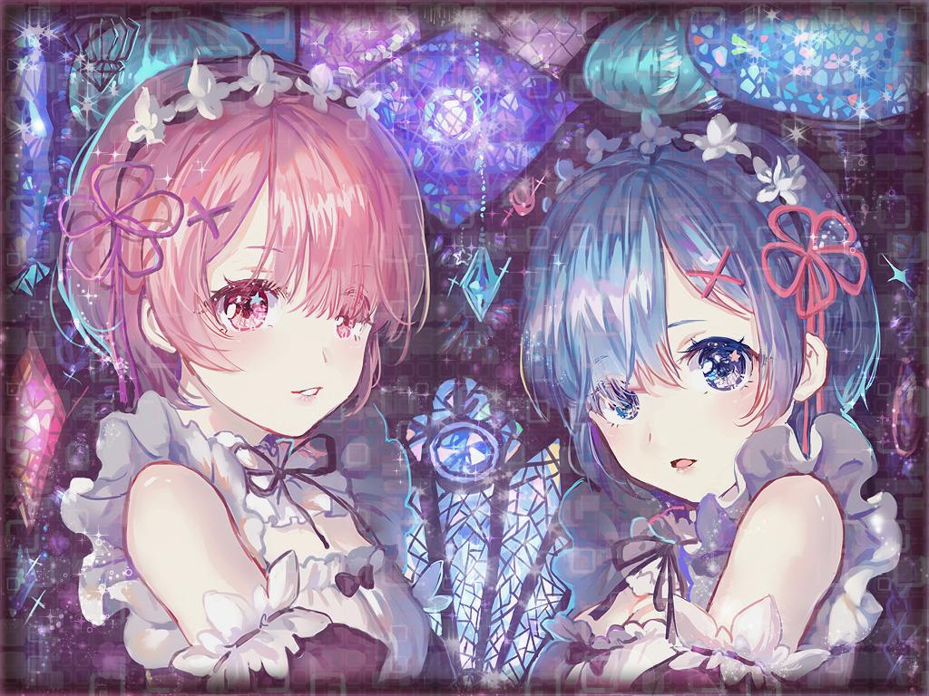 Wallpaper Illustration Anime Girls Re Zero Kara Hajimeru