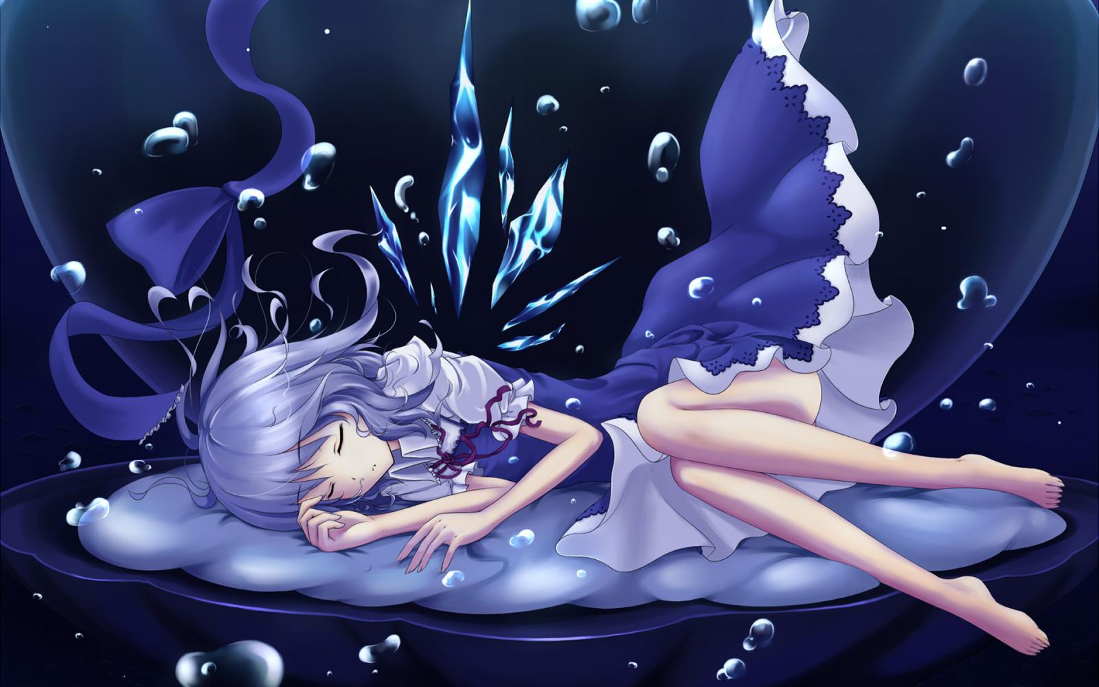 Картинки аниме спокойной ночи сладких снов