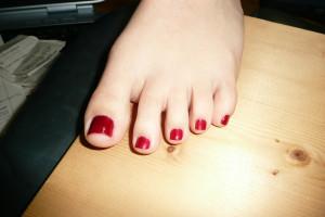 Wallpaper Barefoot Red Pantyhose Feet Mouth Skin