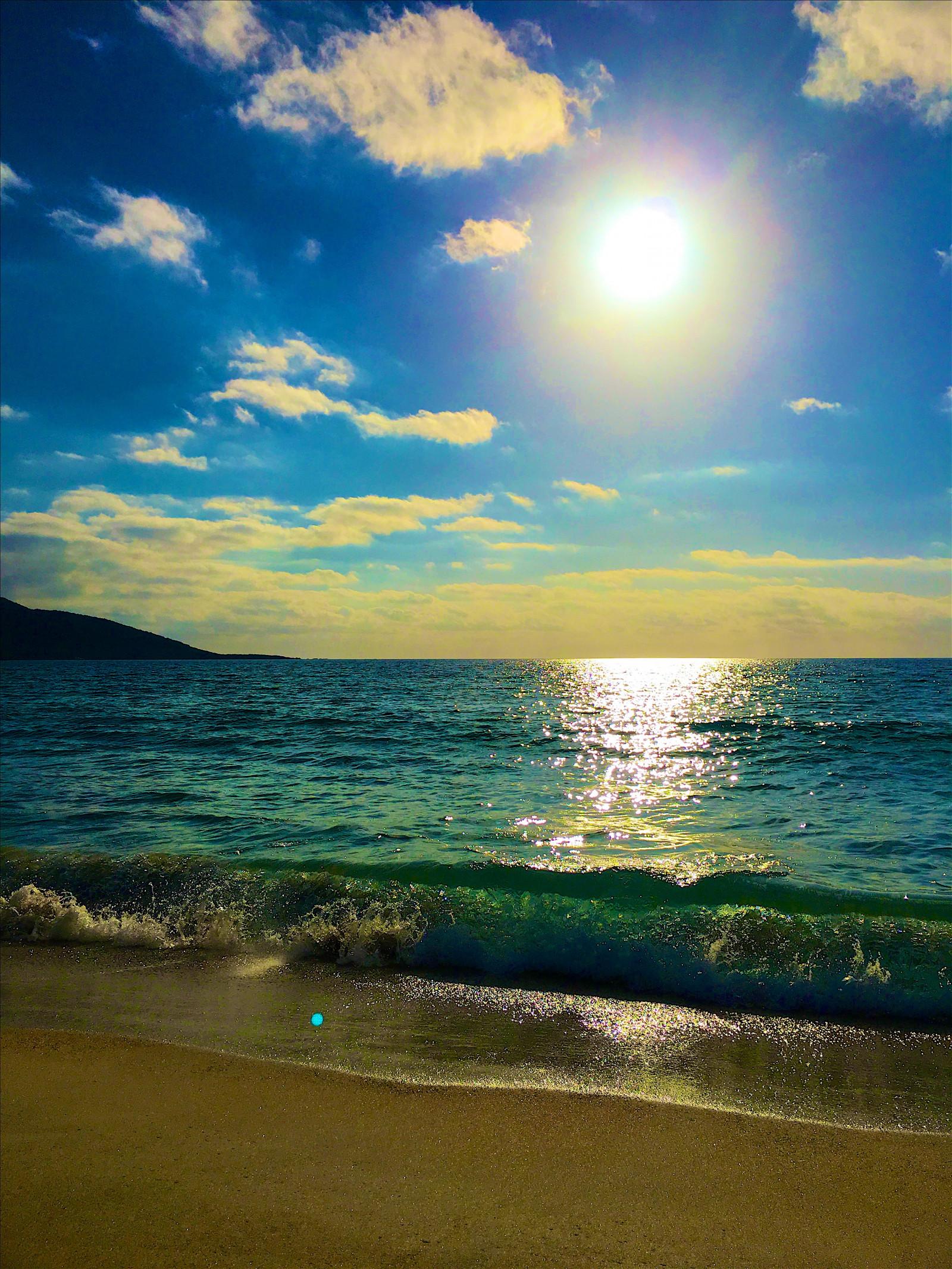 работ картинка море солнечный день прекрасно подойдут