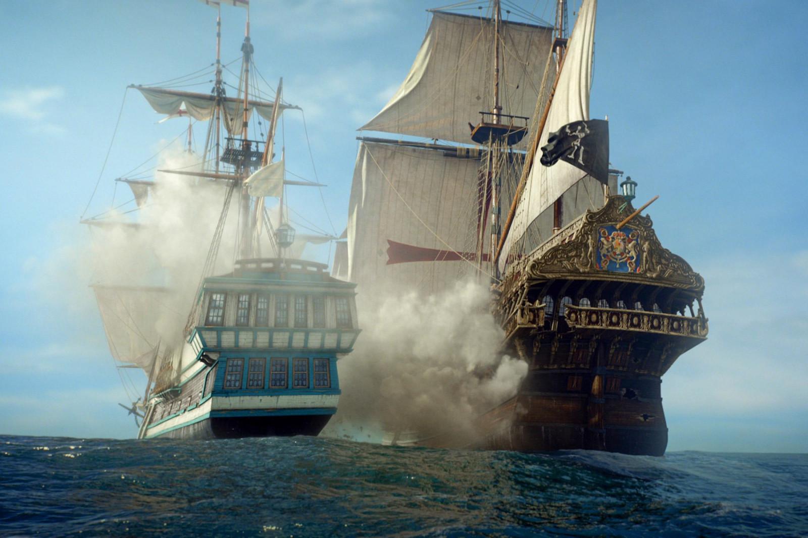 Fond d 39 cran bateau voile mer v hicule voiles - Voile bateau pirate ...
