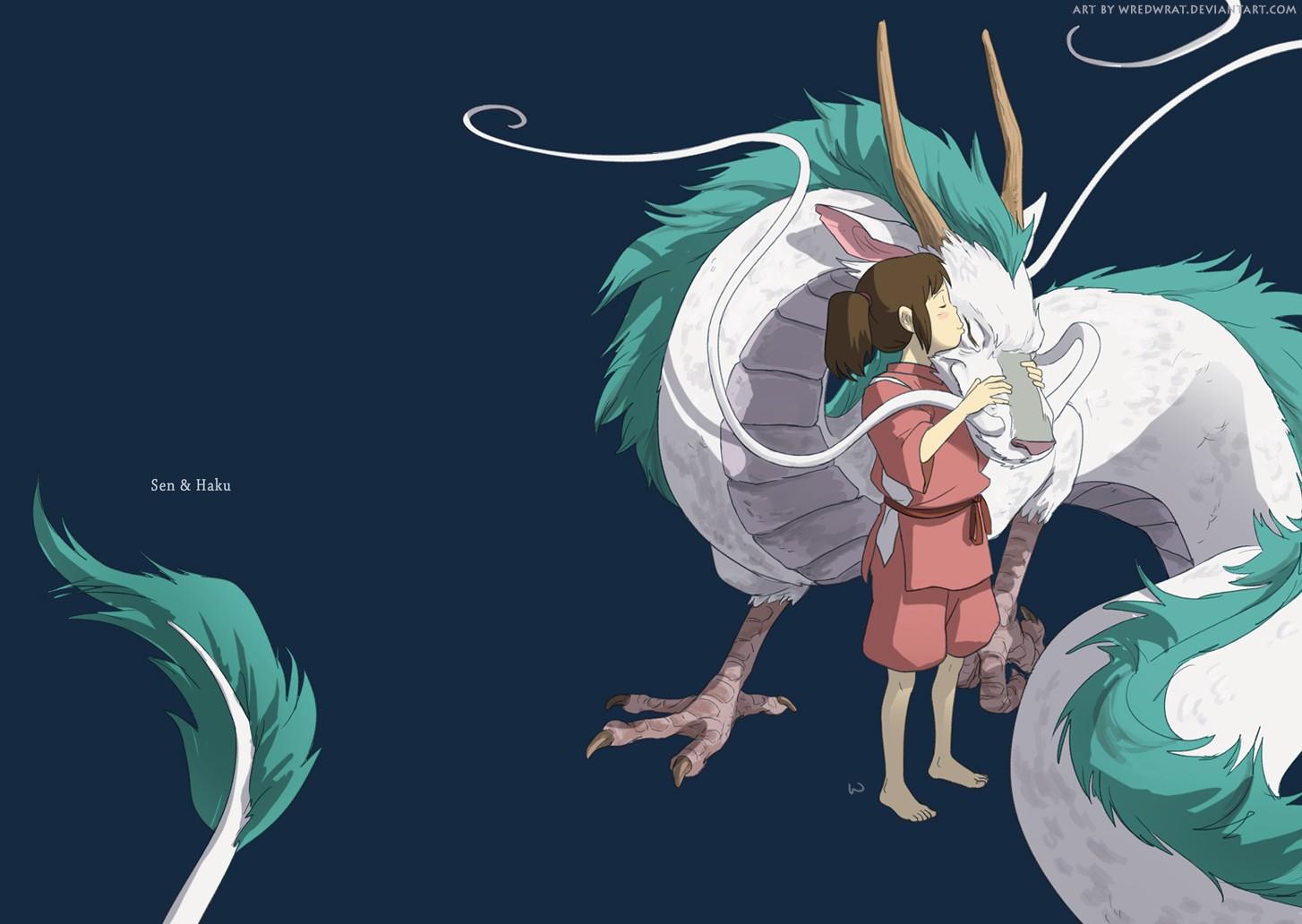 Illustration Anime Spirited Away Cartoon Studio Ghibli Fictional Character 1454x1032 Px