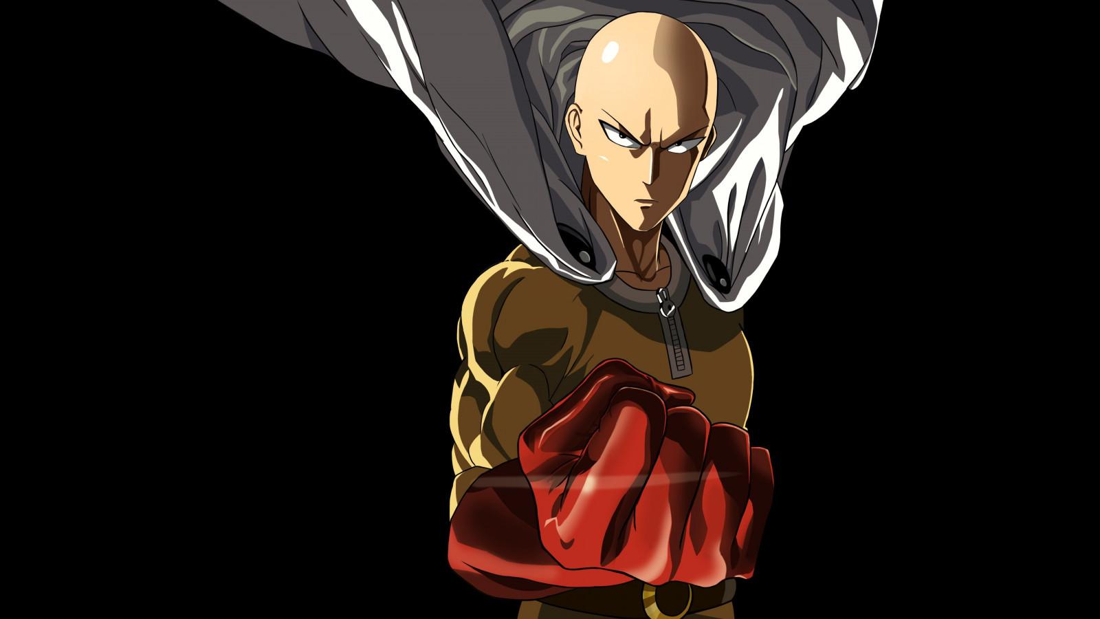 Fond d'écran : illustration, Anime, dessin animé, Saitama, One Punch Man, personnage, capture d ...