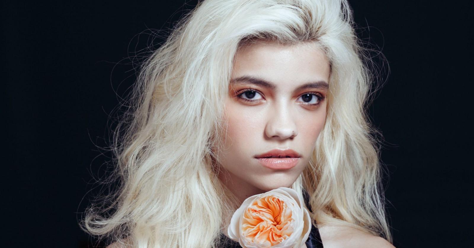 Fond décran : visage, femmes, maquette, blond, Profondeur
