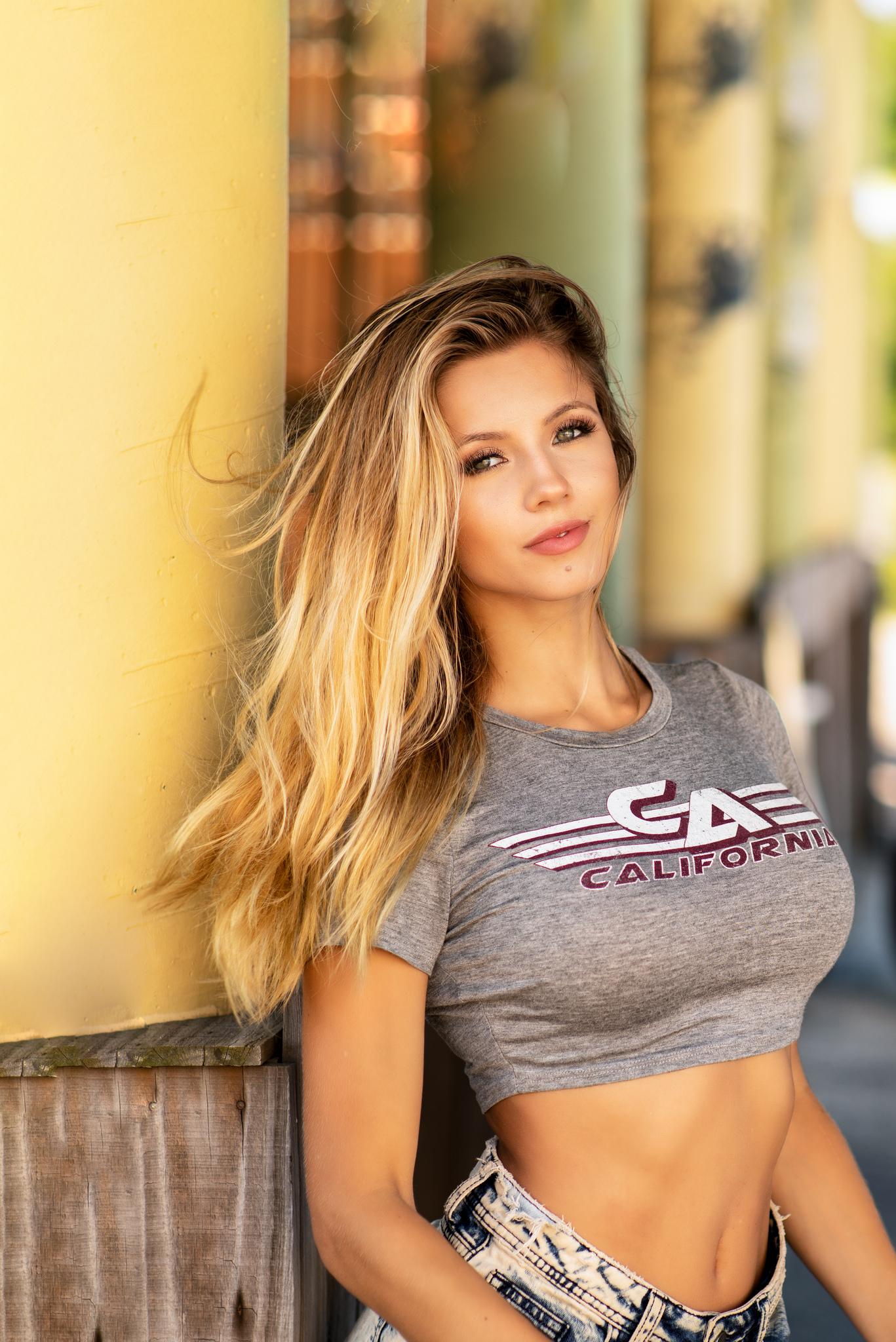 Hintergrundbilder Lissy Katt Frau Modell Blond Lange