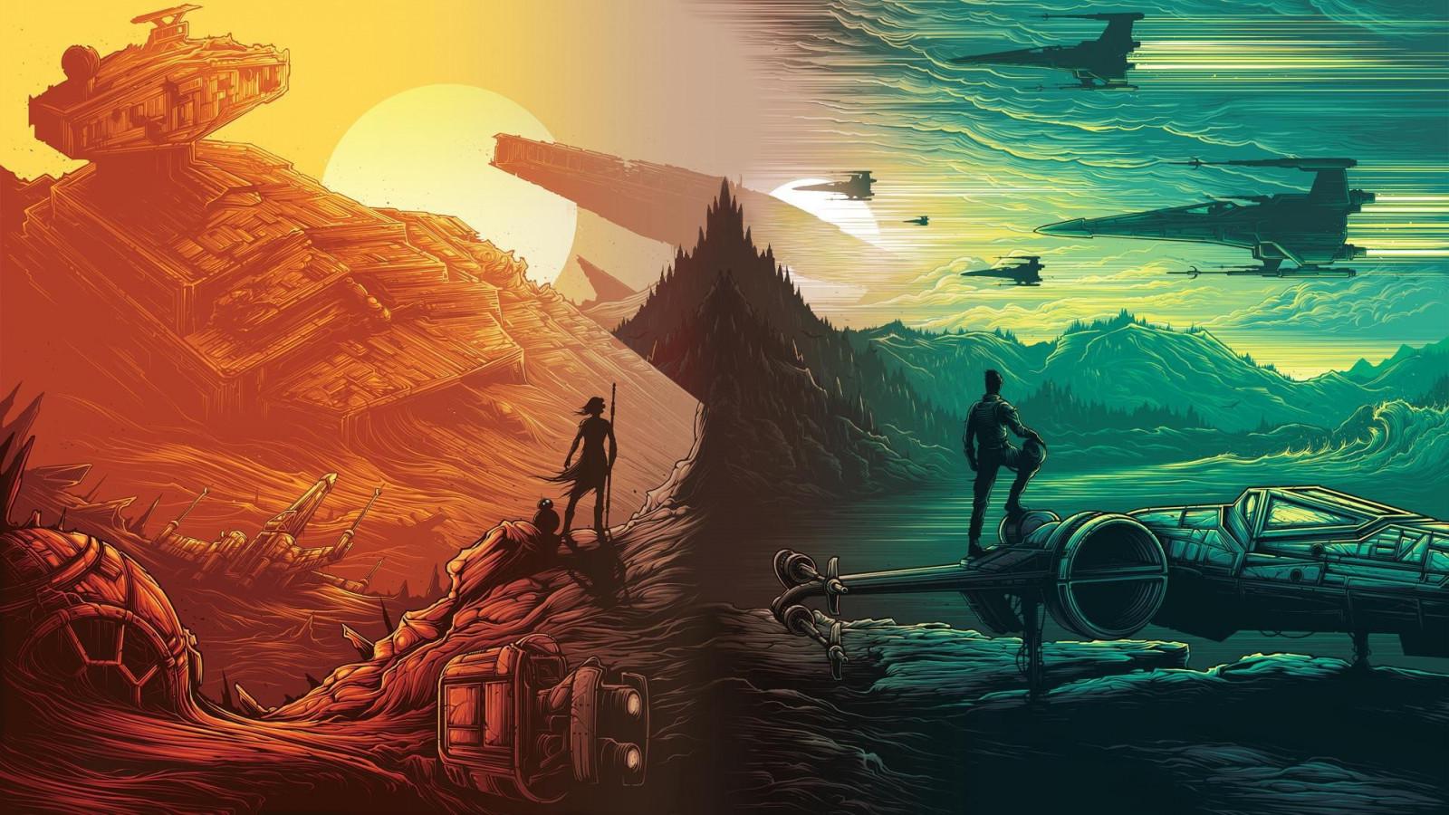 Daisy Ridley Star Wars Wallpaper: Wallpaper : Illustration, Star Wars, Star Destroyer, X