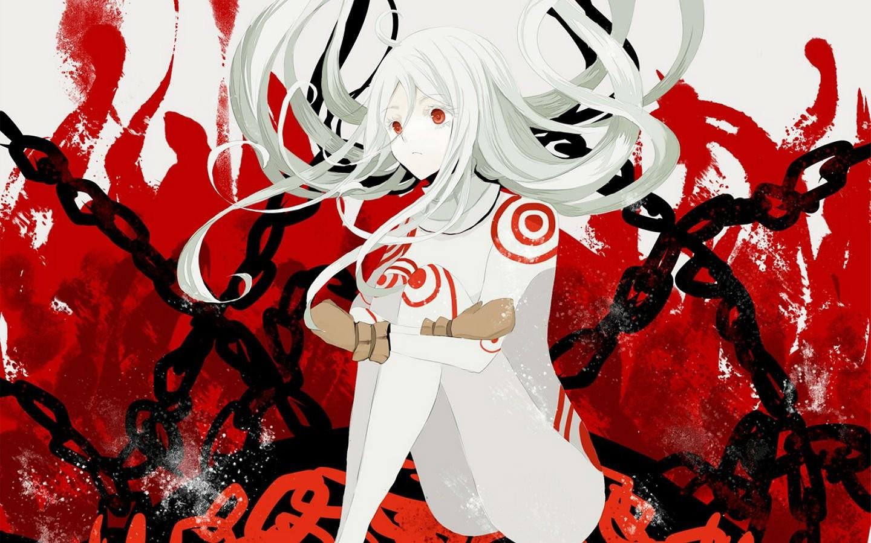 Fondos De Pantalla Ilustración Anime Chicas Anime Rojo