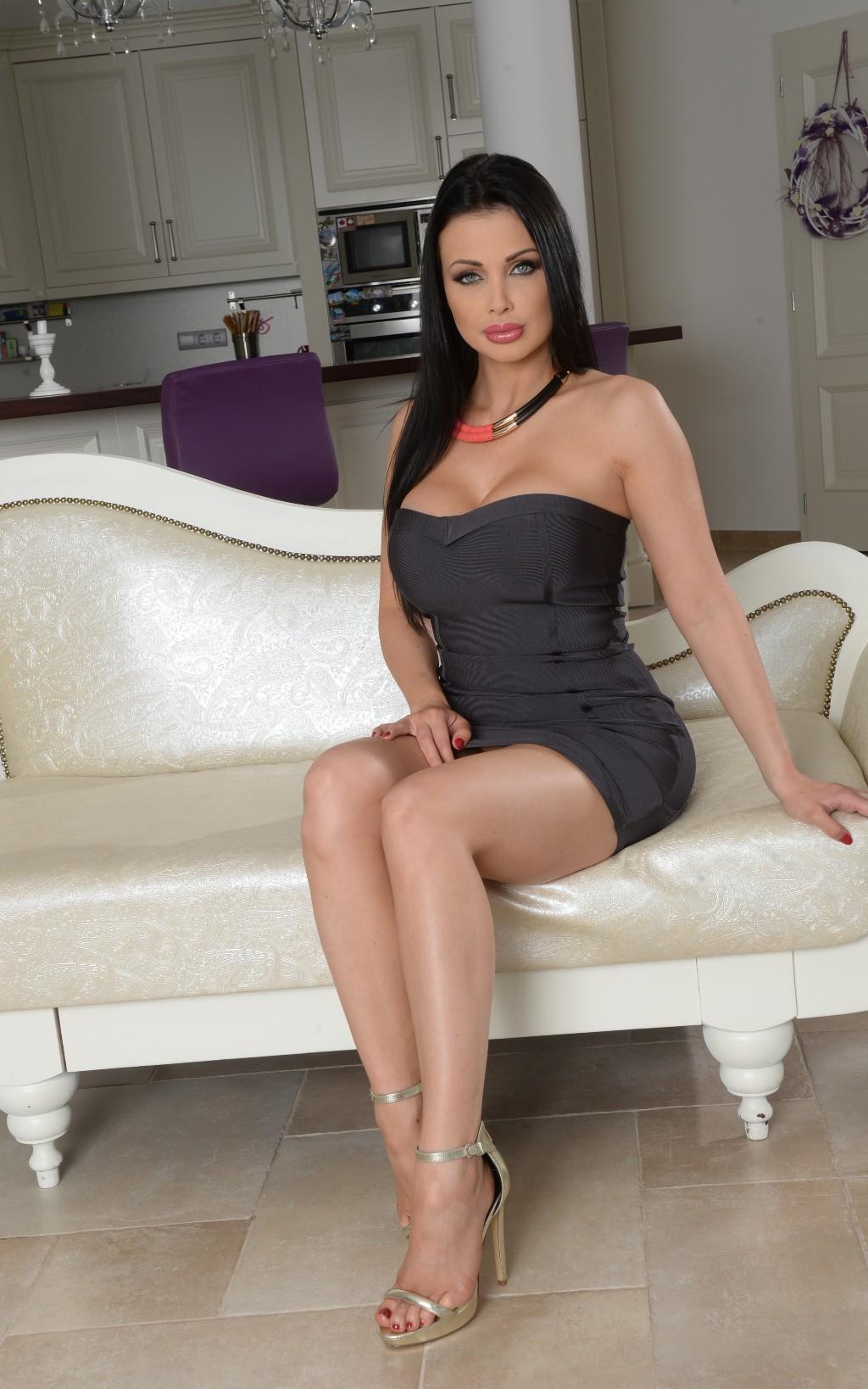 Wallpaper : Aletta Ocean, tight dress, pornstar, black