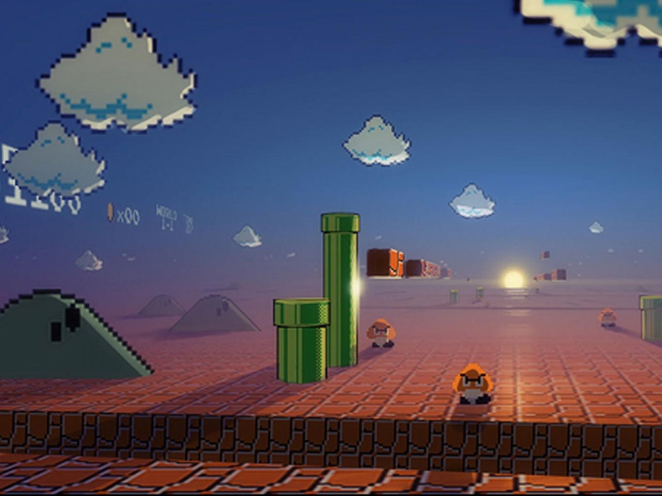 Hintergrundbilder : Illustration, Super Mario ...