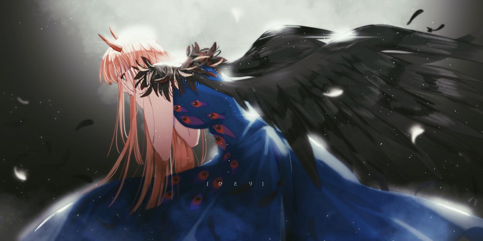 Wallpaper : Anime Girls, Darling In The FranXX, Darling In