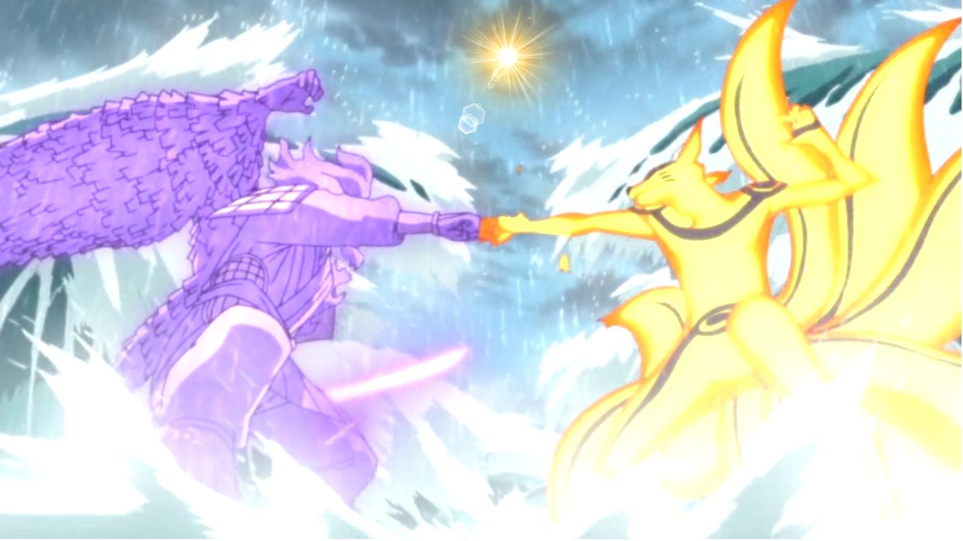 Anime Naruto Shippuuden Rồng Naruto Uzumaki Uchiha Sasuke Kyuubi Nhân vật Susanoo Sự xung đột Ảnh