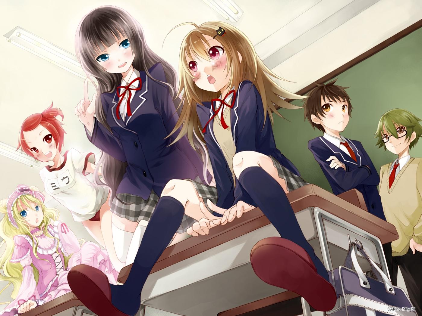 Девушка в школе картинки