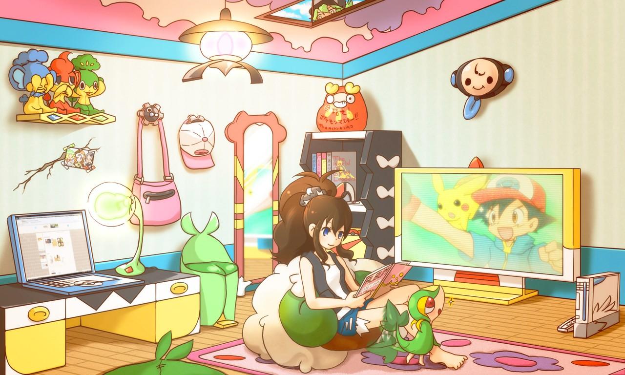fond d 39 cran illustration anime chambre dessin anim salle de classe des bandes dessin es. Black Bedroom Furniture Sets. Home Design Ideas