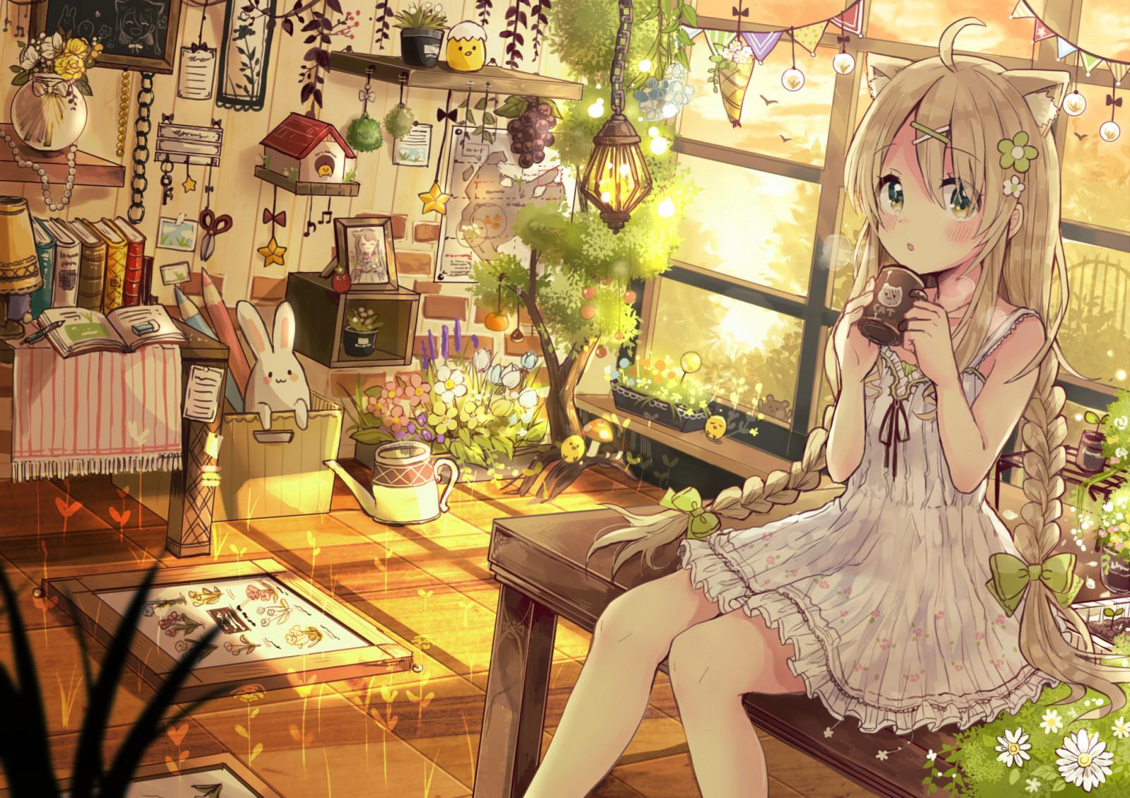 Картинка, прикольные красивые картинки аниме девушек