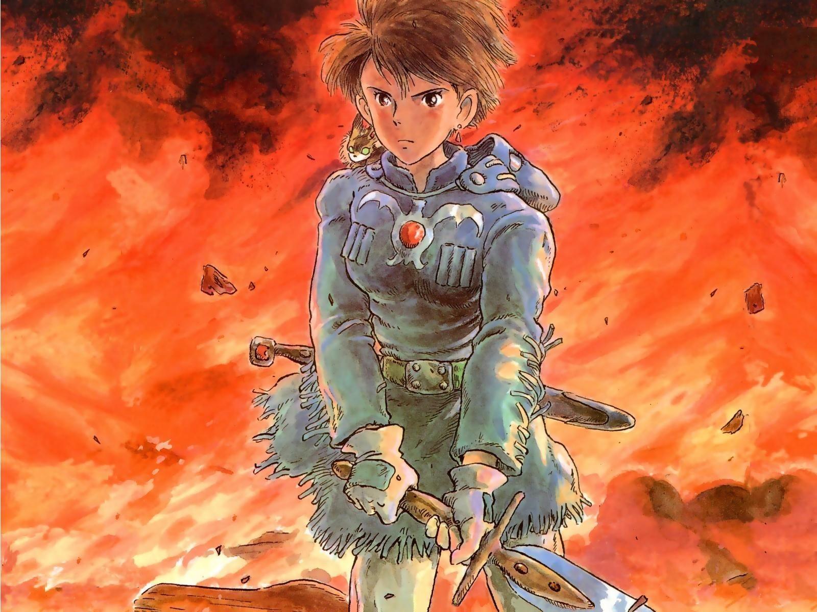 Celebrate The 75th Birthday Of Hayao Miyazaki With These ... |Nausicaa Studio Ghibli Wallpaper
