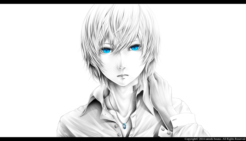 Wallpaper face drawing illustration anime boys artwork