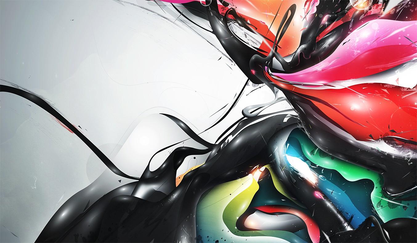 Картинки аниме абстракции