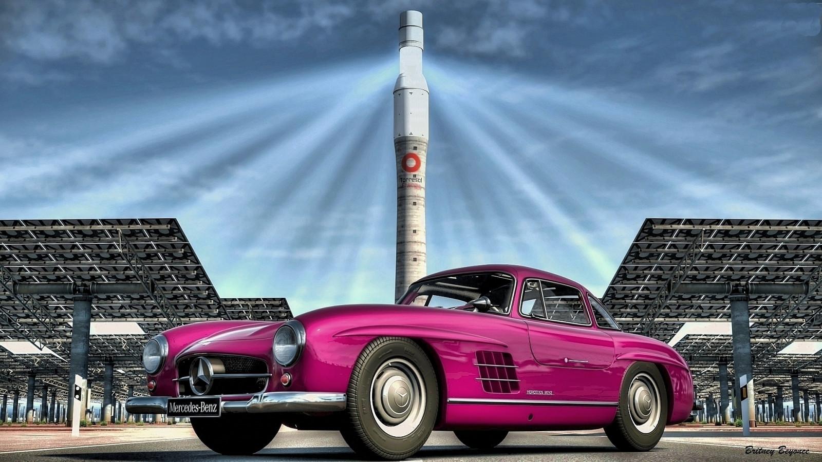 Fond d'écran : véhicule, Mercedes Benz, voiture de sport, Voiture ancienne, Convertible, lumière ...