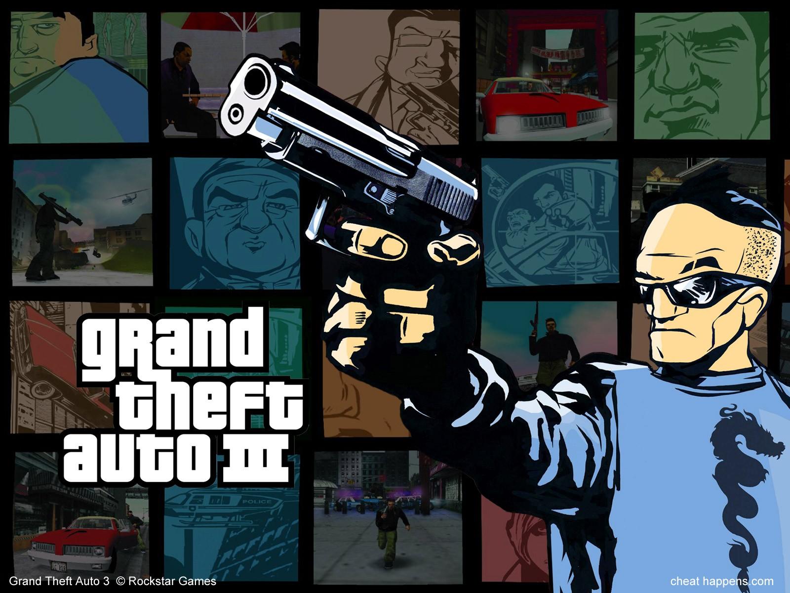 Wallpaper Video Games Grand Theft Auto Iii Grand Theft Auto