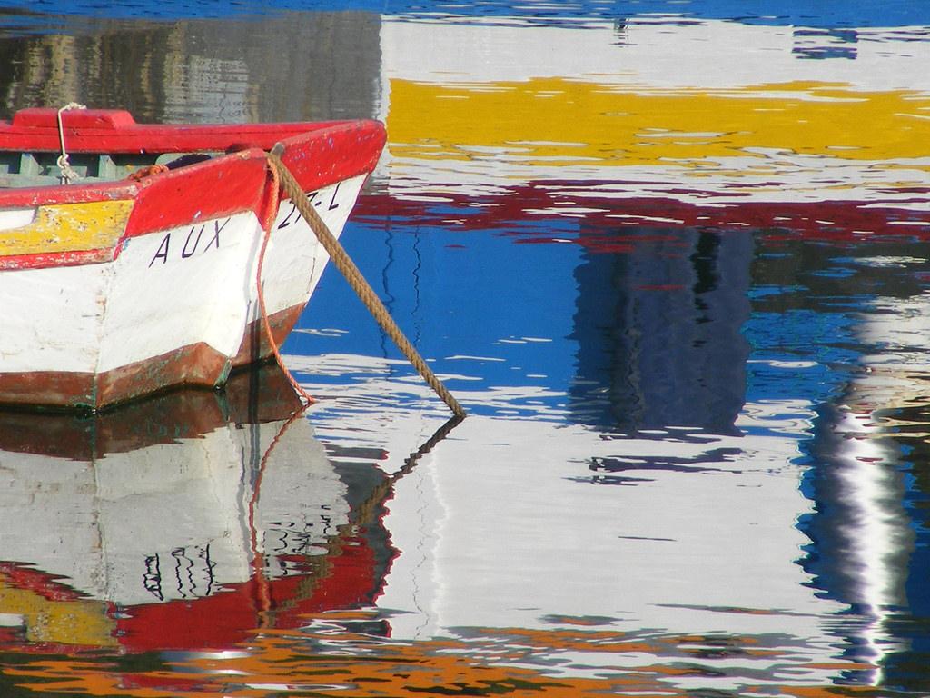 Hintergrundbilder : Malerei, Boot, Meer, abstrakt, Wasser ...