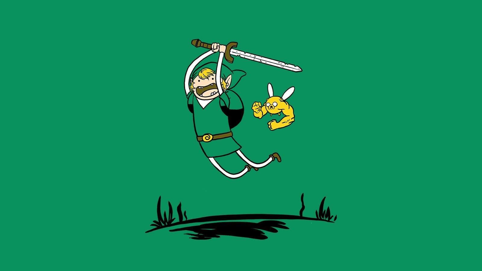Wallpaper : Adventure Time, The Legend