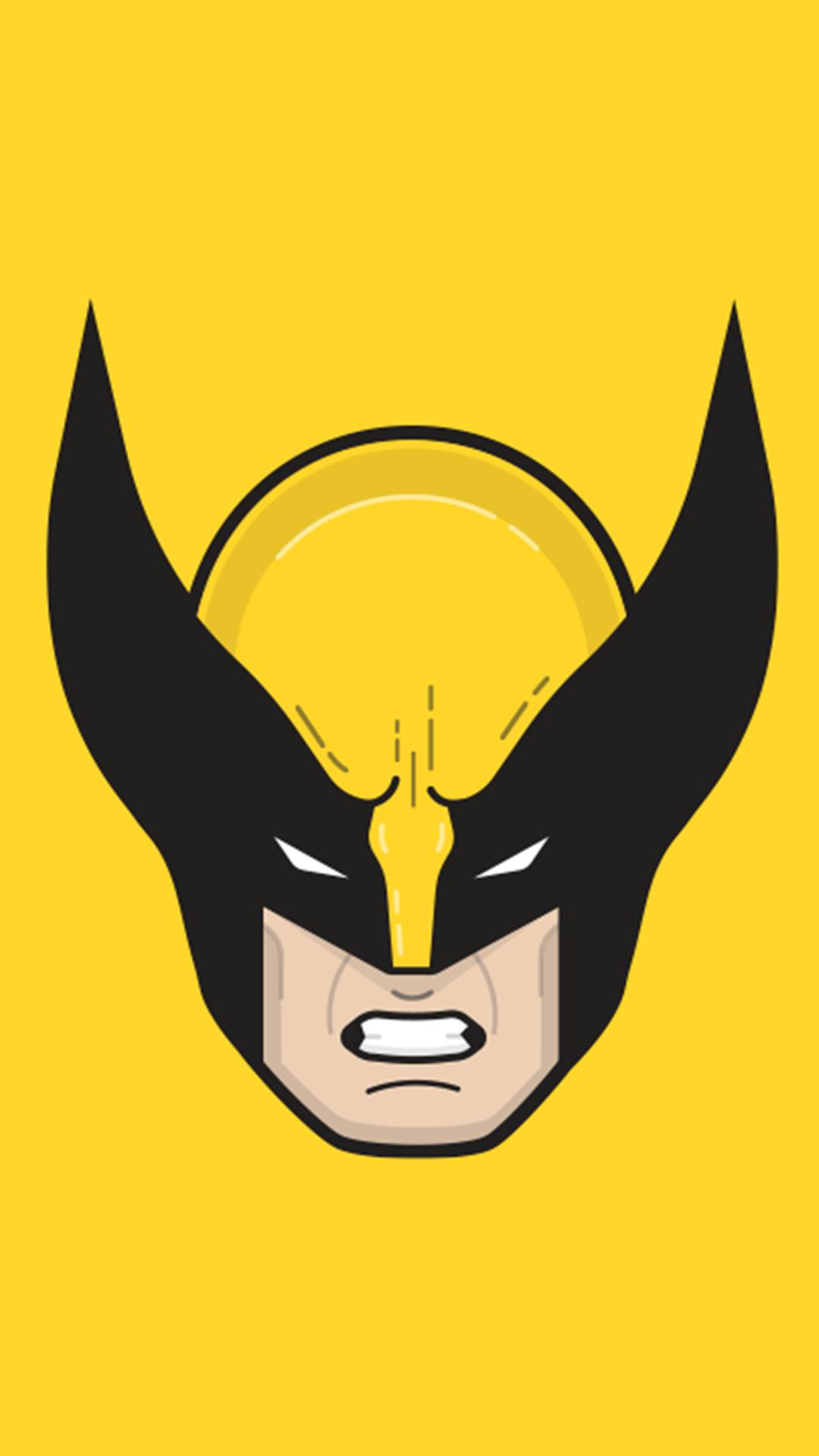 Wallpaper Illustration Logo Wolverine Cartoon Superhero Head