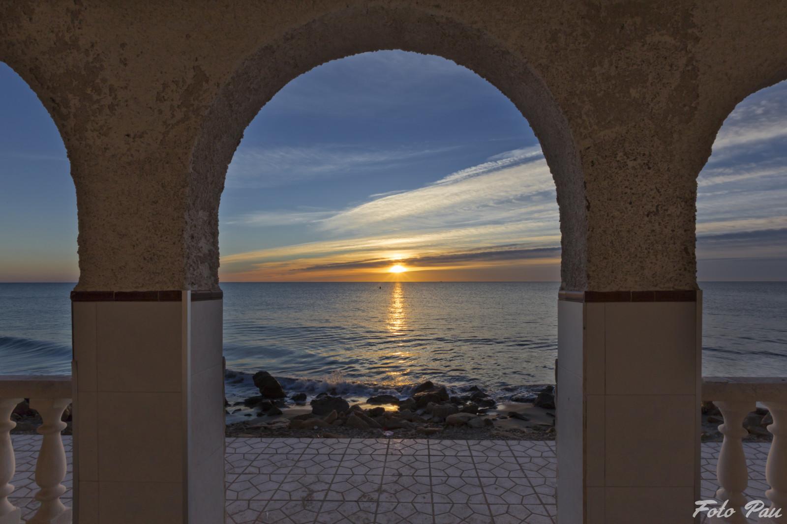 Fondos de pantalla : ventana, puesta de sol, mar, agua, edificio ...