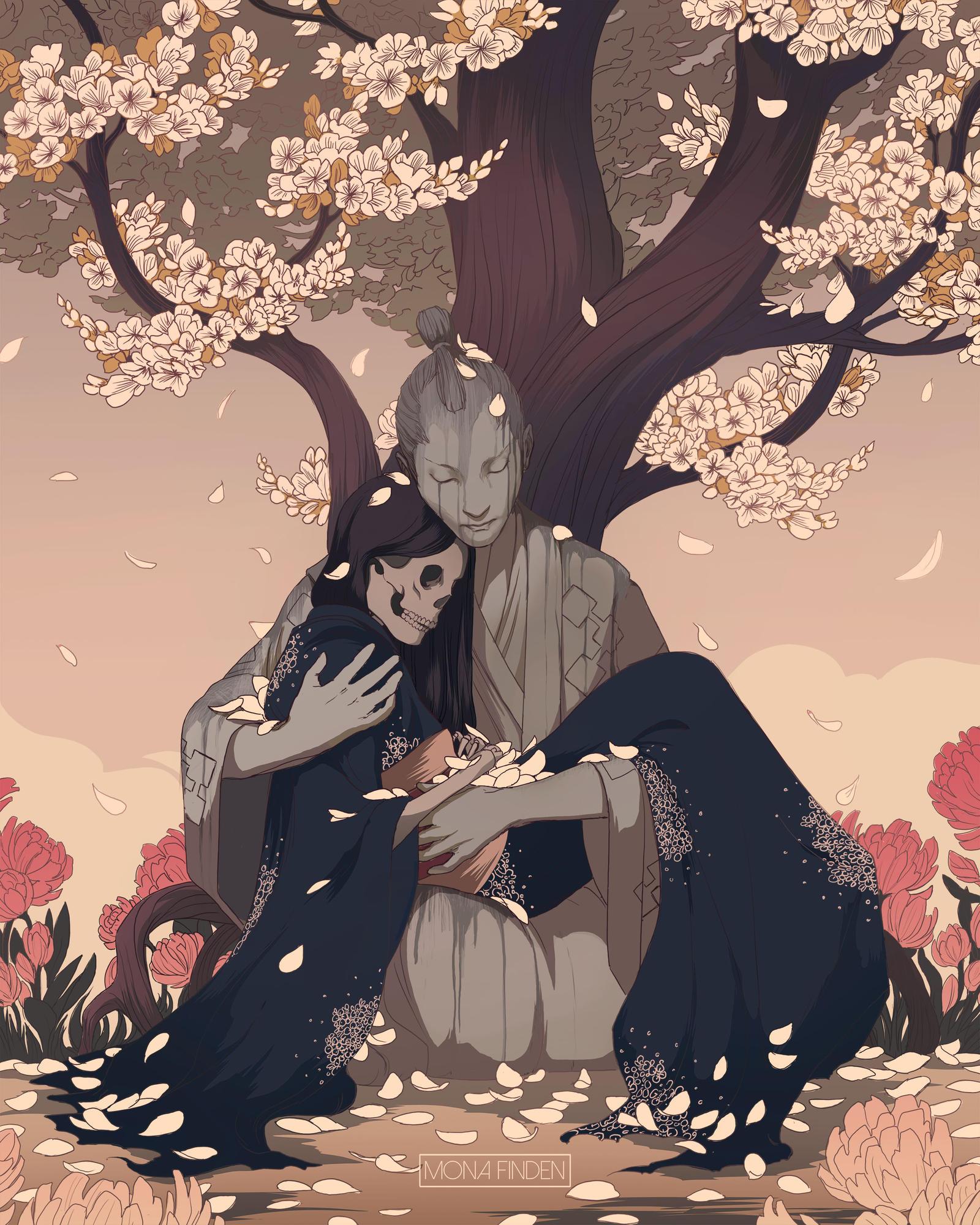 Download 83 Koleksi Gambar Bunga Sakura Art Gratis