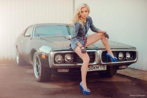 wallpaper blonde legs high heels women  cars jean shorts ford mustang vintage car