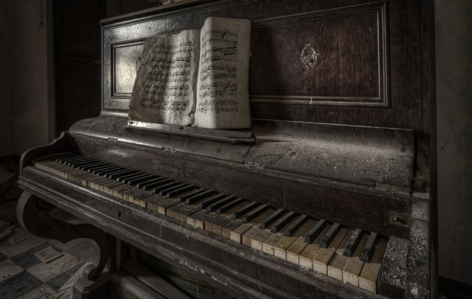 Wallpaper Creepy Horror Abandoned Musical Instrument Spooky HDR Technology Urbex Beautiful Rusty Sigma Vigilantphotographersunite Derelict