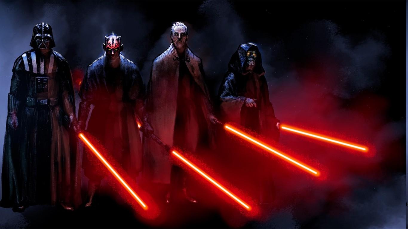 Star Wars Sith Darth Maul Sidious Count Dooku