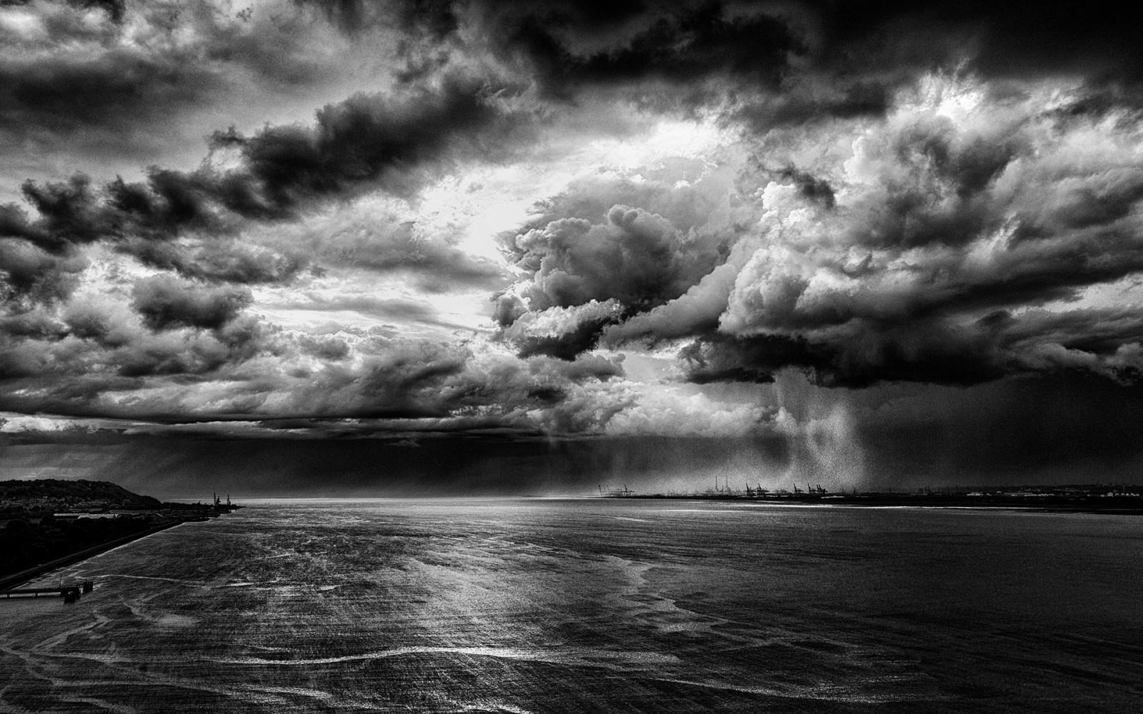 Sfondi paesaggio monocromo mare acqua natura cielo for Foto hd bianco e nero