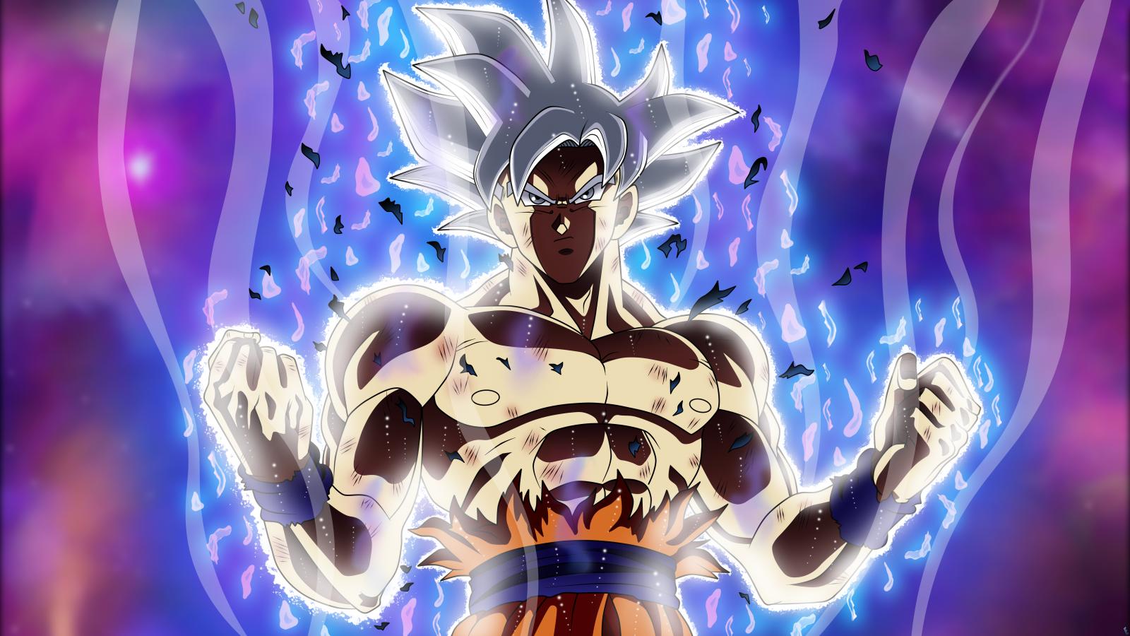Fond d'écran : Dragon Ball Super, Son Goku, Mastered ultra instinct, ultra instict, Ultra ...