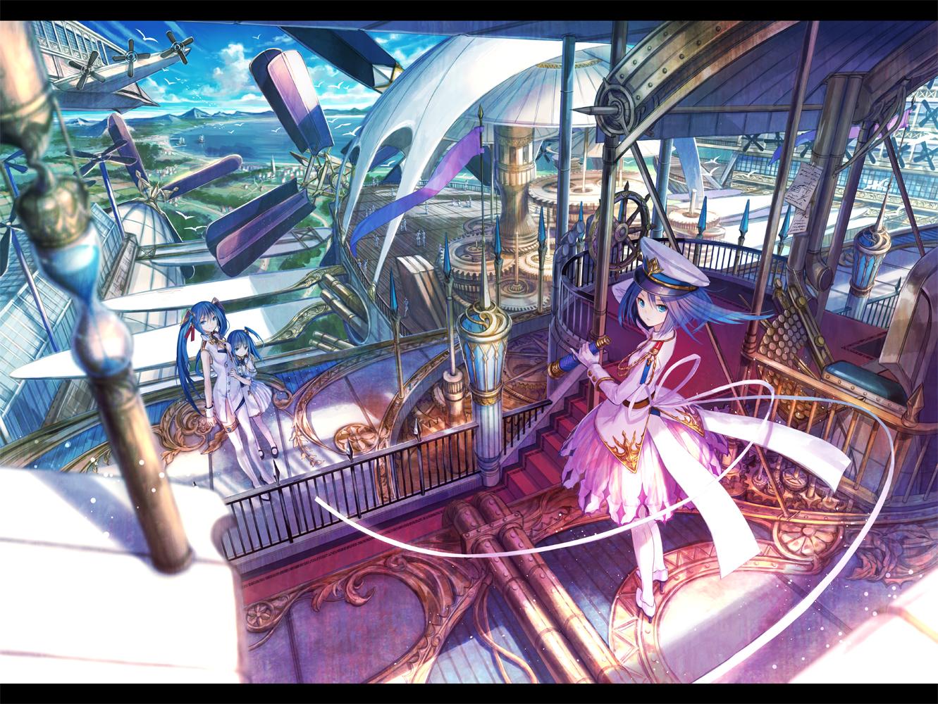 デスクトップ壁紙 アニメの女の子 元の文字 Steampunk 富士時代 レクリエーション スクリーンショット Pcゲーム 遊園地 1331x1000 Nikolaslimao デスクトップ壁紙 Wallhere