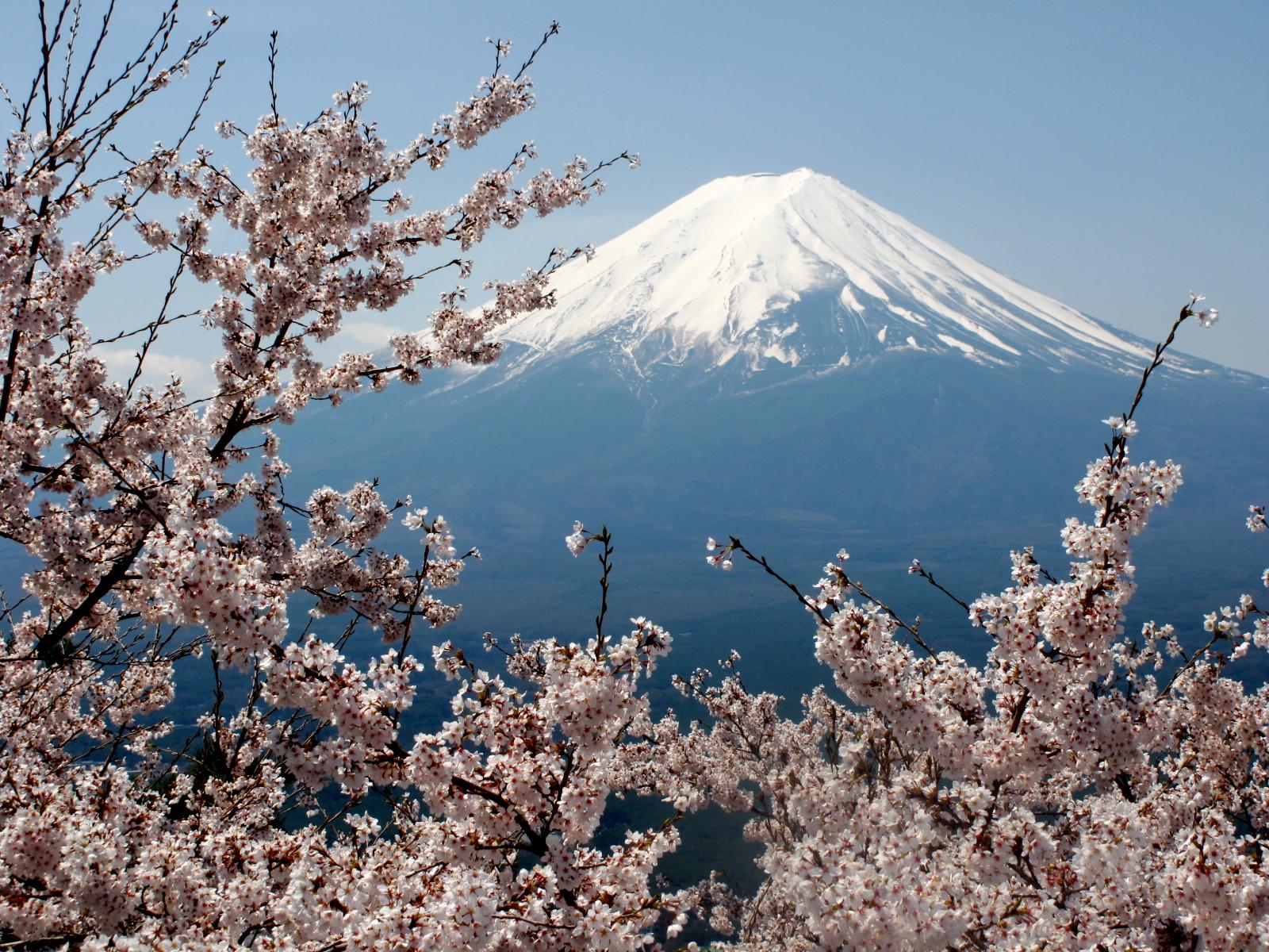 Wallpaper Japon Japan Fuji Montagne Mont Moutain San