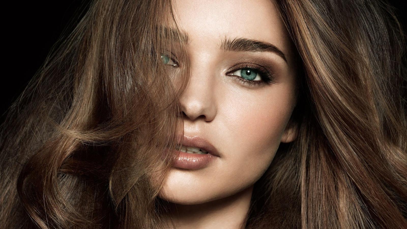 Wallpaper : face, women, model, long hair, blue eyes ...
