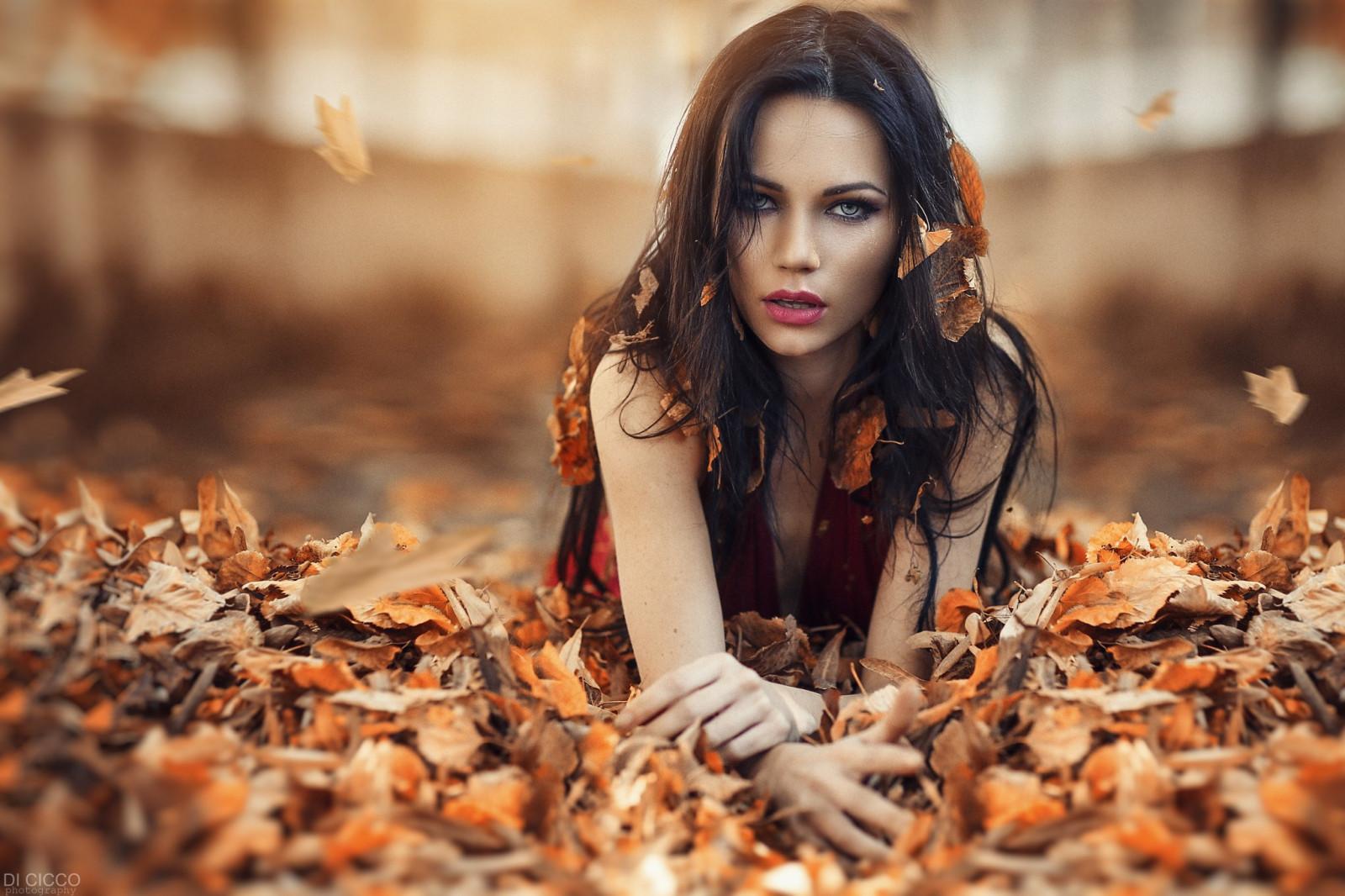 eyes, Long hair, Hair in face, Women outdoors, Georgiy
