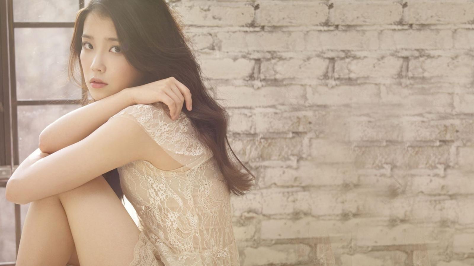 Hintergrundbilder : Frau, Modell-, lange Haare, asiatisch ...
