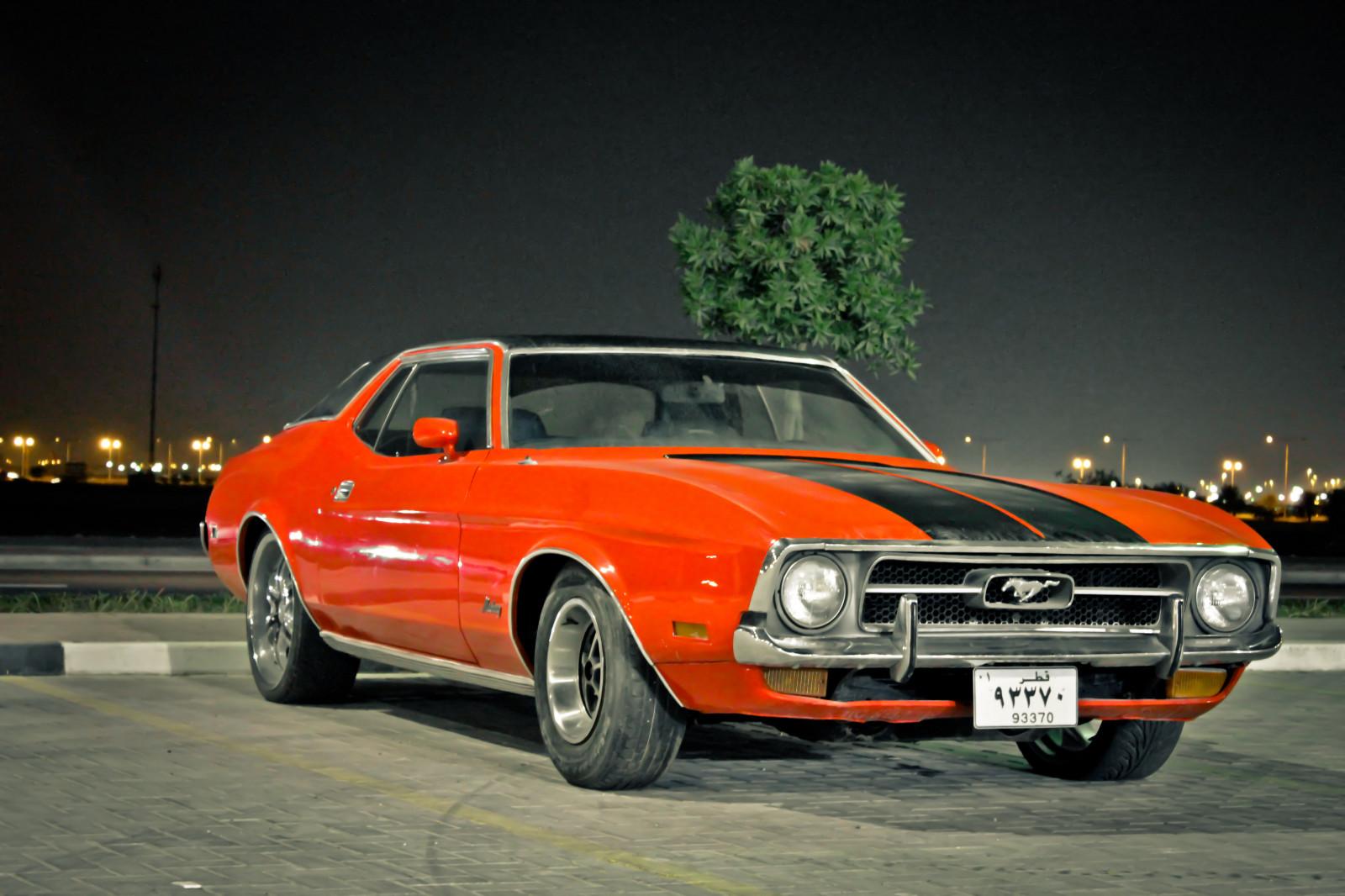Wallpaper : old, sports car, classic car, Chevy, Qatar, Doha, Ford ...