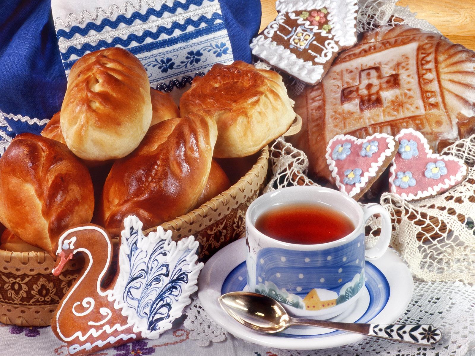 Картинки с пирожками доброе утро