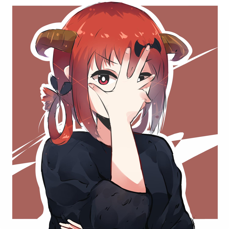 デスクトップ壁紙 ガブリエルドロップアウト アニメの女の子