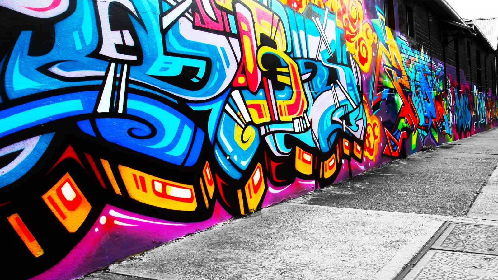 обои на телефон граффити на стенах настоящее