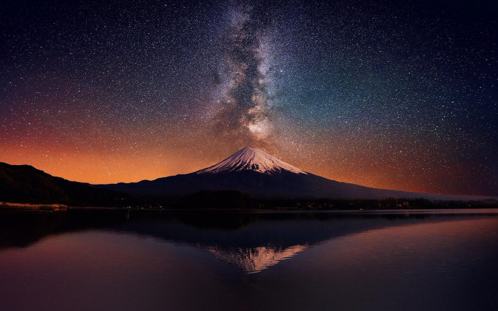 噴火のような天の川
